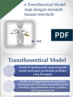 Penerapan Transtheorical Model-merokok