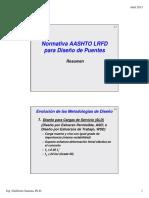 1 Normativa Para Diseño de Puentes AASHTO LRFD