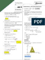 Física - Caderno de Resoluções - Apostila Volume 3 - Pré-Universitário - Física2 - Aula14