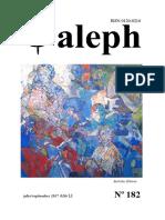 Revista Aleph No. 182 . Manizales, Colombia, Julio/septiembre, 2017.