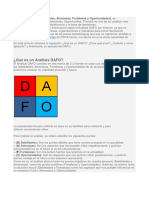 ANALISIS Dafo, Como.