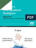 Clase II - Agua Ph y Amortiguadores Fisiologicos