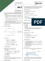 Física - Caderno de Resoluções - Apostila Volume 3 - Pré-Universitário - Física3 - Aula14