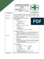 8.1.1.1 Sop Pemeriksaan Laboratorium PUSKESMAS DTP BANJARSARI