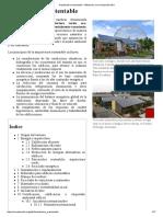 Arquitectura Sustentable - Wikipedia, La Enciclopedia Libre