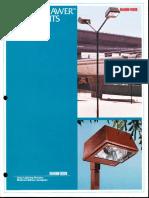 McGraw-Edison Power Drawer Area Light Series Brochure 1978