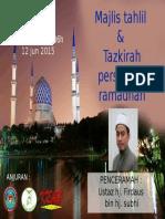 2015-06-12 Latihan Dalaman Bil 9 - Ceramah Persiapan Ramadhan