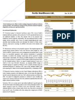 Research Report Fortis Healthcare Ltd