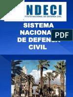 SISTEMA NACIONAL DE DEFENSA CIVIL INDECI