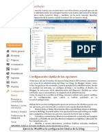 Ficha Configurar Blogger