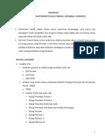 Panduan Tentang Penjelasan Dan Persetujuan Umum ( General Consent )