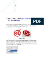 Belajar Membuat Logo 3d Di Photoshop