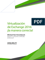 Virtualizing Exchange 2016 Right Way