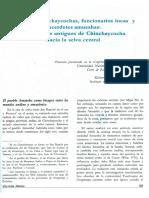 Caciques Chinchaycochas, Funcionarios Incas y Sacerdotes Amueshsas, Los Caminos Antiguos de Chinchaycocha Hacia La Selva Central.