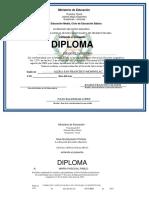 Diploma Fco