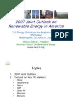 ACORE Renewable Energy Resources
