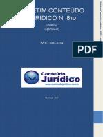 boletim conteúdo jurídico n. 810 - ISSN - 1984-0454 (ART. 29, II)