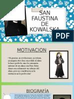 San Faustina de kowalska elisa.pptx