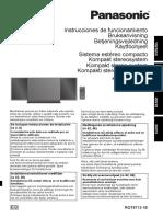 Manual Panasonic HC 57