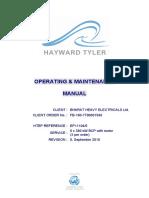Bcwp Manual