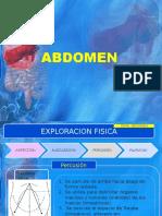 Exploracion de Abdomen