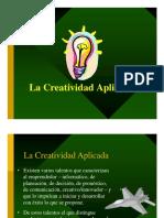 1.- La Creatividad Aplicada