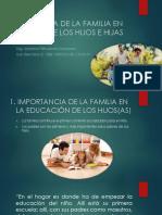 Influencia de La Familia en La Conducta