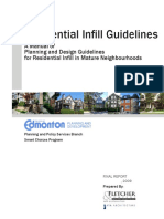 Residential Infill Guidelines Sept 2009