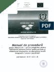 Manual Procedura Masura III.1 M01 e.ii.r.0