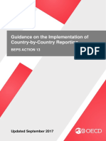 Guidance on the Implementation of Country by Country Reporting Beps Action 13
