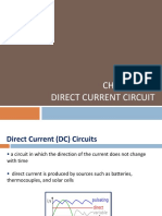Chapter 26 Direct Current Circuits