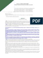 Legea 230 Din 2007