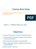 2015 Healthcare Financial Boot Camp