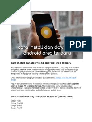 Cara Install Dan Download Android Oreo Terbaru