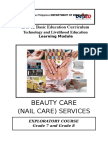 167862893 Nail Care Learning Module