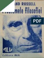 Bertrand Russell - Problemele Filosofiei (bookmarks)