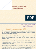 Magnetic Nanoparticle in MRI