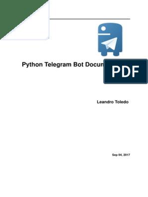 Python Telegram Bot (1) | Callback (Computer Programming