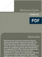 Nutrient Cycle LPCP