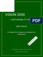 Vision 2050 (-- sustainability approach)