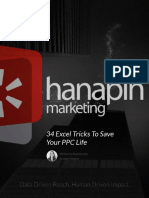 34 Excel Tricks to Save Your PPC Life