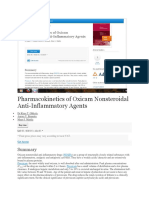 Pharmacokinetics of Oxicam Nonsteroidal Anti