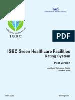 IGBC Green Healthcare Facilties