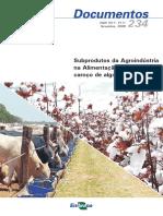 Subprodutos Da Agroindustria Na Alimentacao de Bovinos Caroco de Algodao