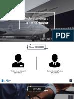 Understanding an IT Department