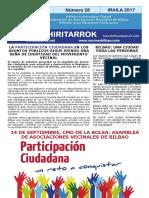Hiritarrok 28 Set 2017