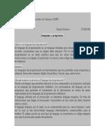 8 Informe Lenguaje y Programas