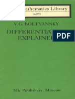 Differentiation Explained -Boltyansky(1977)