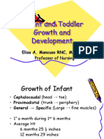 Infant and Toddler Growth and Develop Copy Jan11