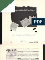 Schiavetta Bernardo Holotextualite